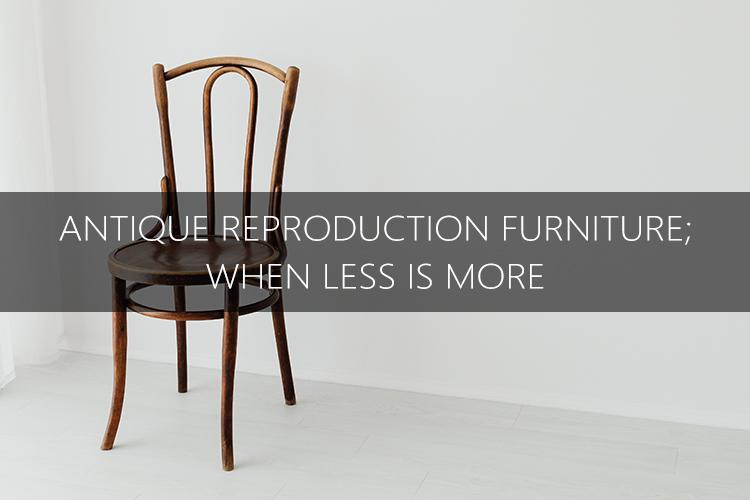 antique furniture lone chair banner