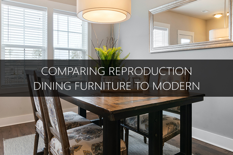 choosing dining furniture to modern article banner